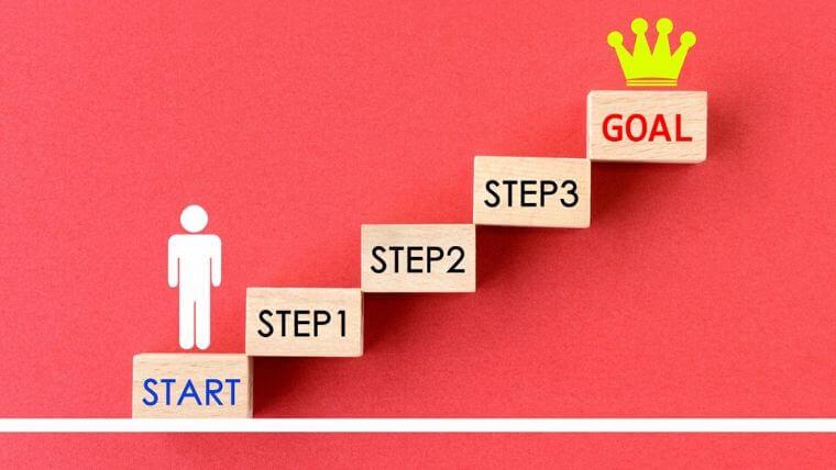 一歩一歩ステップアップ